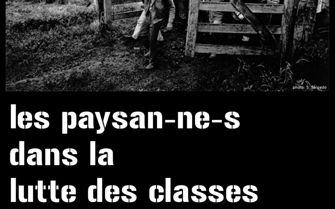 Paysan.nes dans la lutte des classes – 03/09/2020